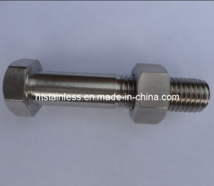 Incoloy 800 1.4876 Uns N08800 Hex Cap Screw pictures & photos