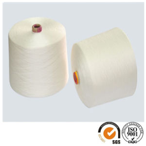 Single Yarn for Knitting 30/1 100% Spun Polyester Yarn pictures & photos