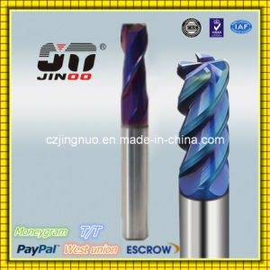 Solid Carbide Spiral Flutes Milling Cutter OEM pictures & photos