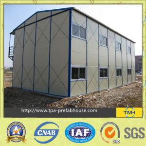 Steel Frame Temporary House Building pictures & photos