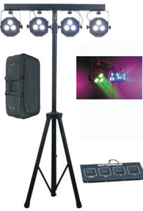 American DJ Mega QA PAR38 3*15W Flat 5in 1 LED PAR Can Bar Light pictures & photos