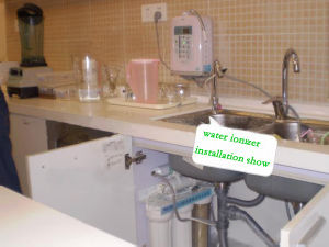Alkaline Water Ionizer (Japan Tech, China manufacturer) with Built-in UF Filter and External Filter (Q9A) pictures & photos