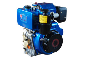 Air-Cooled Single Cylinder Diesel Engine 170F pictures & photos