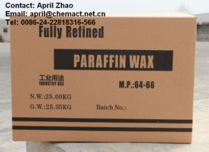 Fully Refined Paraffin Wax 64/66 pictures & photos