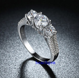 Hot Sell Jewelry- Cubic Zirconia Brass Rings (R0839) pictures & photos