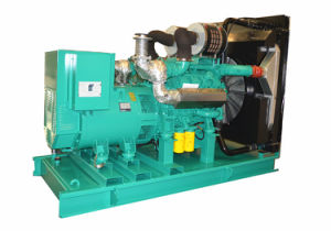 High Engine Efficiency 500kVA 400kw Silent Canopy Diesel Genset pictures & photos