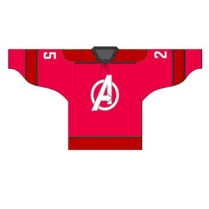 Red Color Printed Ice Hockey Jersey with Custom Name and Logo pictures & photos