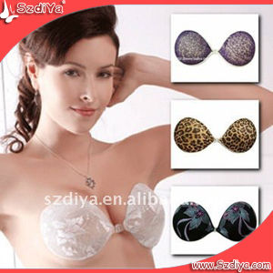 Women Underwear Seamless Strapless Adhesive Silicone Super Light Bra for Sexy Girl pictures & photos