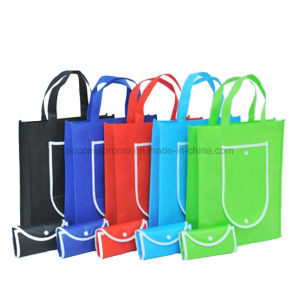 Various Colors Non Woven Foldable Bag for Shopping pictures & photos