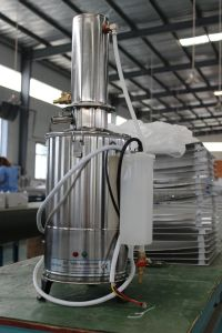 Ce Lab Stainless Steel Water Distiller Lab Water Distiller Dz pictures & photos
