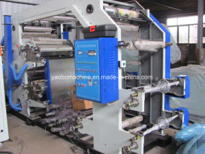 Yb-4600 Flexographic Printing Machine for Plastic Film pictures & photos