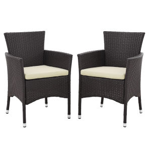 Well Furnir T-078 4-Piece Patio PE Rattan Dining Sofa Chat Set pictures & photos