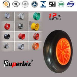European Standard PU Foam Wheel (3.50-8) pictures & photos