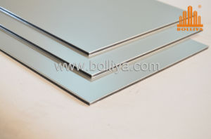 Wall Cladding Coppers/Aluminum Signage Mt-2002 Metallic Silver pictures & photos