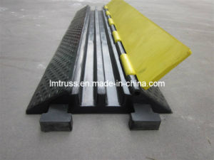 Hot Sale 2-Channel Rubber Cable Ramp pictures & photos