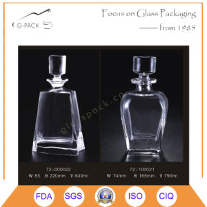 Brimful 790ml Glass Bottle for Whisky, Liqueurs pictures & photos