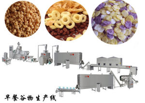 Breakfast Cereals Corn Flakes Production Line Extrusion Machine pictures & photos
