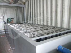 Mobile Supply Water SGS Certification Containerized Block Ice Plant (MBC80) pictures & photos