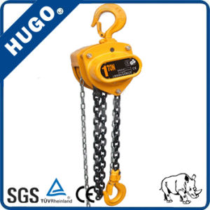 Style Hsz-CD Dual-Bearing Manual Hand Pully Chain Blcok Hoist pictures & photos