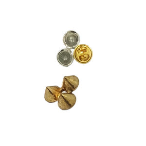 Customized Rivet Style Metal Brooch Pin for Clothing (JH0036) pictures & photos