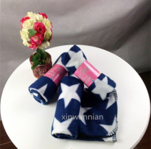 High Quality 100% Polyester Polar Fleece Blanket (XSM-SM010)