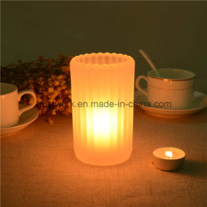 High Quality Crystal Glass Candle Holder pictures & photos