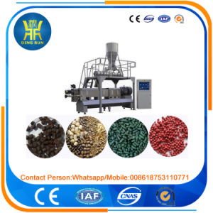 fish feed for tilapia floating fish feed extruder machine pictures & photos