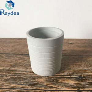 Mini Round Succulent Cement Pot pictures & photos