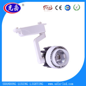 High Power Shop Gallery 15 24 30 Degree Beam Angle Dimmable 30 COB LED Track Light pictures & photos