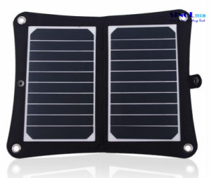 10W 5V Sunpower 2- Folding Solar Panel Charger with Inner Voltage Controller for Smart Phones, iPhone, iPad, Power Bank, 3.7V Battery (FSC-10AT) pictures & photos