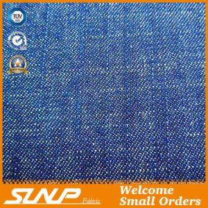 Cotton and Polyester Slub Denim Fabric for Clothes