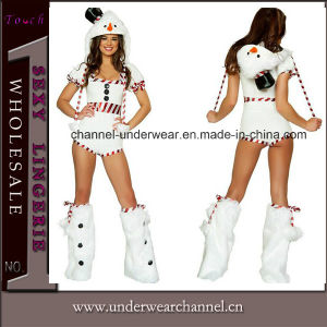 Wholesale Sexy Snowman Romper Adult Party Costume (TLQZ7668A) pictures & photos