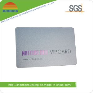 Plastic VIP Membership Card with SGS Approval