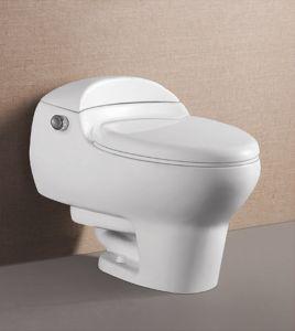 New Design One Peice Water Closet Siphonic Bathroom Ceramic Toilet