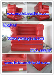 CE Certificate Inflatable Sofa Model for Advertising (MIC-424) pictures & photos