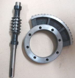 Worm Shaft and Worm Wheel pictures & photos