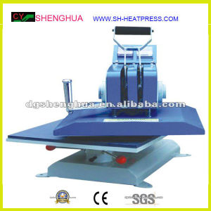 Plain Swing Away Heat Press Machine for Sale Cy-Y1 pictures & photos