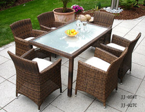 Outdoor Furniture, PE Rattan Furniture, (JJ-058T, JJ-027C) pictures & photos