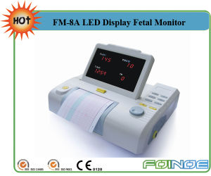 FM-8A Hot Medical Baby Fetal Monitor with CE pictures & photos