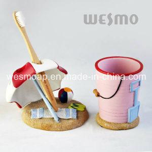 Seashore Theme Polyresin Bathroom Set (WBP1098A) pictures & photos