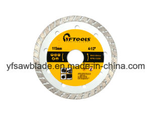 Cold Sintered Diamond Saw Blade for Stone Cutting pictures & photos