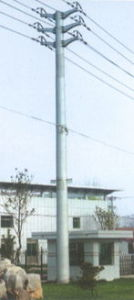 Supply High Quantily Single Pole Transmission Tower pictures & photos