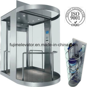 Low Noise Observation Elevator with Sightseeing Glass pictures & photos