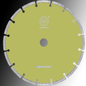 230mm Dry Diamond Blade for Crystal Cutting-Diamond Cutting Disc pictures & photos