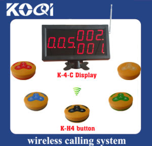 Electronic Table Call Bell System for Restaurant Hospital pictures & photos
