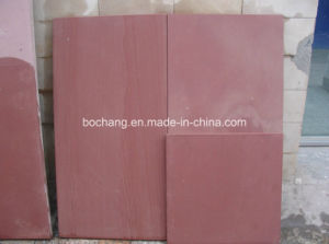 Chinese Red Sandstone for Tile Slab Paver pictures & photos