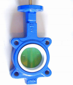 Wafer Cast Iron Butterfly Valve pictures & photos