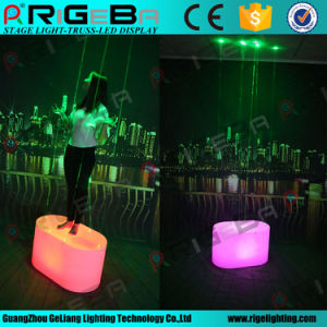 Wedding Party Disco Battery Chargeable LED Oval Laser Dance Floor pictures & photos