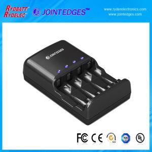 4 NiMH Slot AA/AAA LED Battery Charger