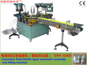 Correction Fluid (bottle type) Automatic Assembly and Filling Machine pictures & photos